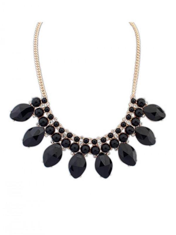 Occident Bohemia Big Gemstone Hot Sale Necklace