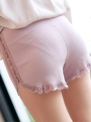 Fashion Women's Cotton Lace Seamless Safety Pants/Safety Shorts