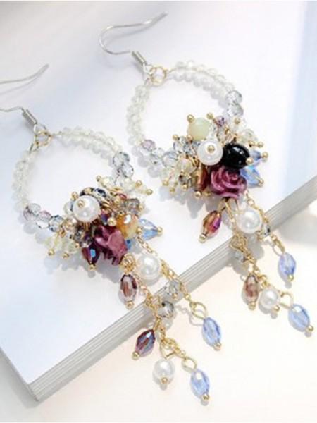 Trending Bohemia Style Crystal Earrings