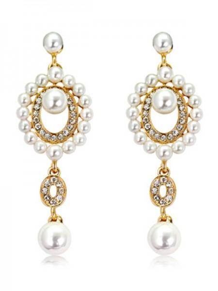 Unique Pearl Hot Sale Earrings For Ladies
