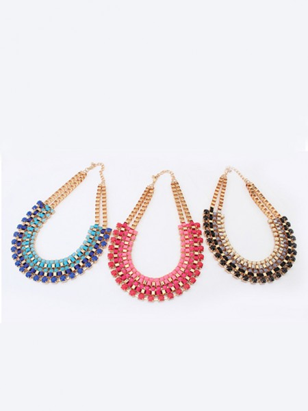 Occident Stylish Retro multi-layered all-match Hot Sale Necklace
