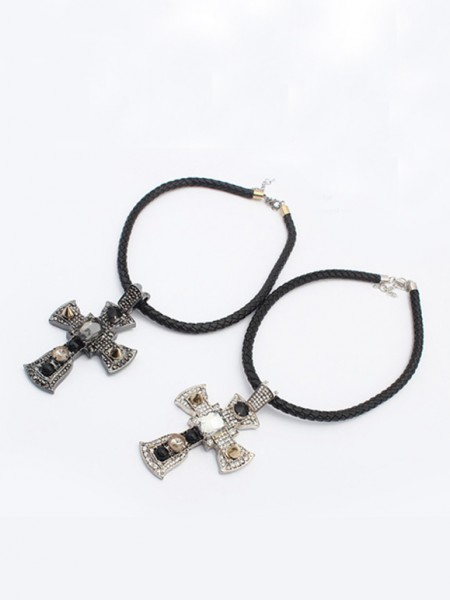 Occident Punk Retro Cross Hot Sale Necklace