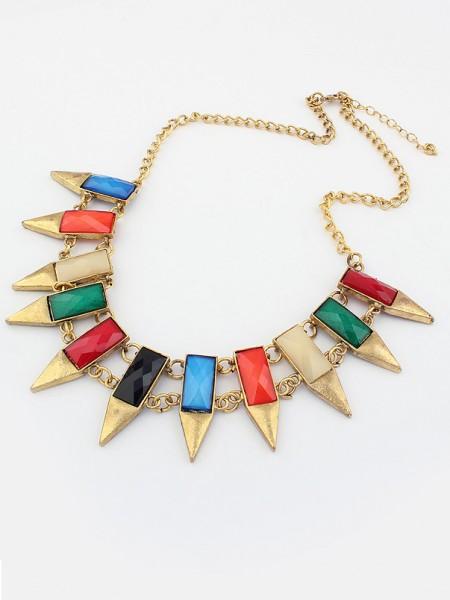 Occident Major suit Retro Geometry Irregular Hot Sale Necklace