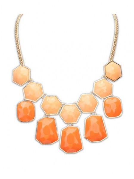 Occident Exquisite Big Gemstone Hot Sale Necklace
