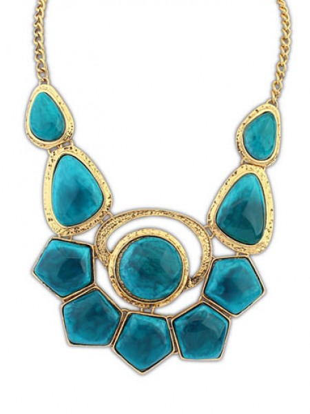 Occident Bohemia Exotic Gemstone Hot Sale Necklace
