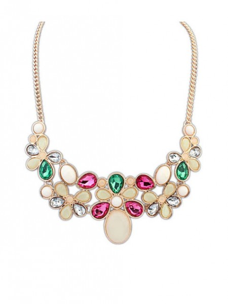 Occident Candy Gemstone Stylish Hot Sale Necklace