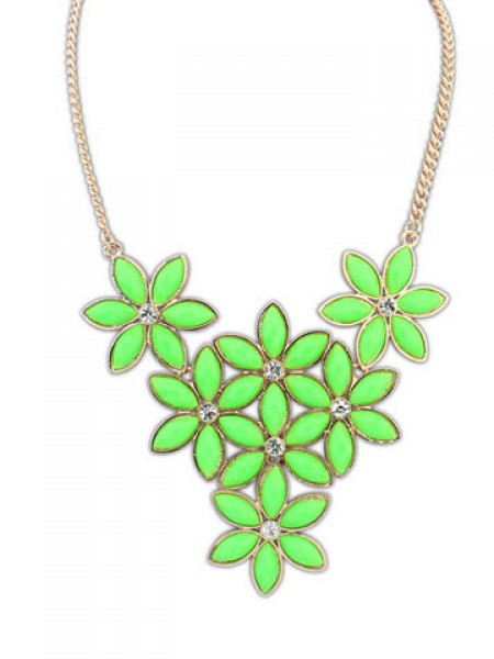 Occident Stylish New Flowers all-match Hot Sale Necklace