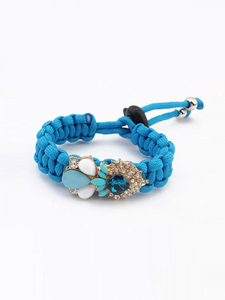 Occident Fashionable Woven Gemstone Hot Sale Bracelets