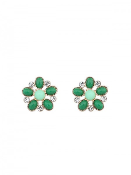 Occident Bohemia Big Flower Style Stud Hot Sale Earrings