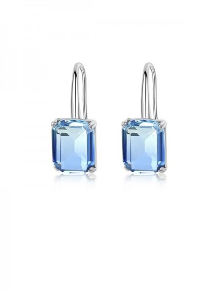 Trending Zircon With Crystal Earrings For Ladies